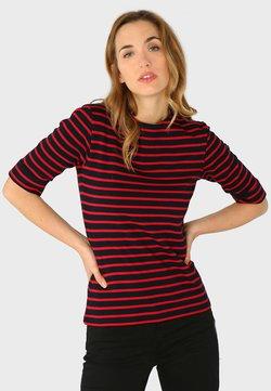 Armor lux - CANCALE MARINIÈRE - T-Shirt print - rich navy braise
