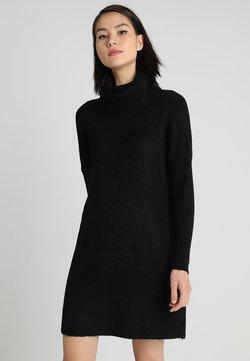ONLY - ONLJANA COWLNECK DRESS  - Strickkleid - black