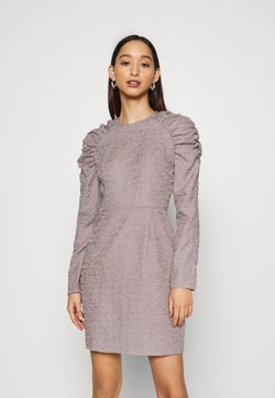 Nly by Nelly - PUFFY SLEEVE DRESS - Etui-jurk - grey