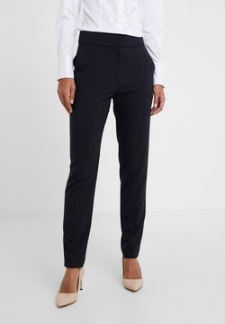 HUGO - THE CROPPED TROUSER - Stoffhose - navy