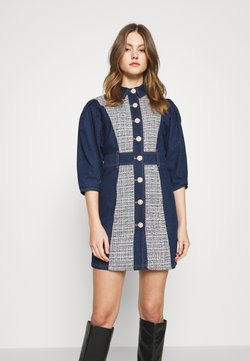 River Island - Denim dress - dark blue