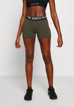 The North Face - WOMENS ESSENTIAL SHORTY - Trikoot - new taupe green