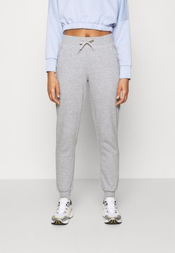 New Look - SLIM LEG JOGGER - Jogginghose - mid grey