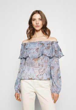 Nly by Nelly - MEET ME AFTER BLOUSE - Bluzka - multi coloured