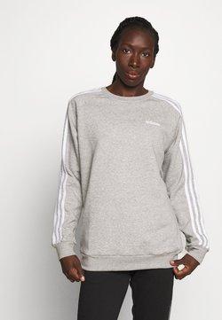 adidas Performance - CREW - Collegepaita - medium grey heather