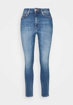 Tommy Jeans - SYLVIA HIGH RISE SKINNY ANKLE - Jeansy Skinny Fit - harlow mid blue