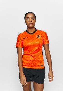 Nike Performance - NIEDERLANDE KNVB HM - Voetbalshirt - Land - safety orange/black