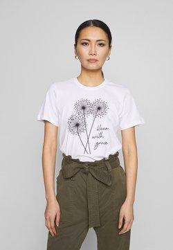 Anna Field - T-shirt con stampa - white