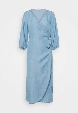 Cream - AMIRA DRESS - Vestido largo - blue denim