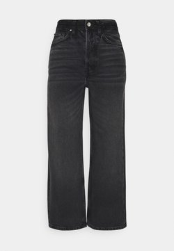 Even&Odd - Straight leg -farkut - black denim