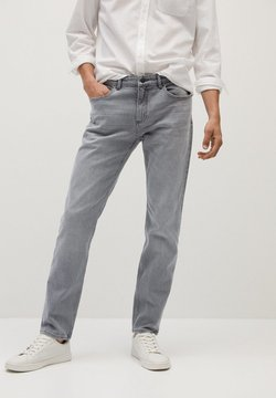 Mango - BOB7 - Straight leg jeans - denim grau