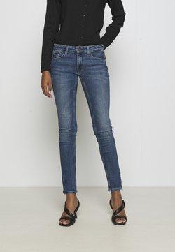 Tommy Jeans - SOPHIE ANKLE ZIP  - Jeans Skinny - jasper mid blue