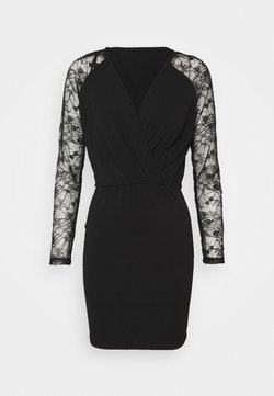 Vero Moda Petite - VMJAFFA SHORT DRESS - Korte jurk - black