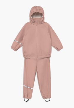 CeLaVi - BASIC RAINWEAR RECYCLE SET - Pantalon de pluie - misty rose