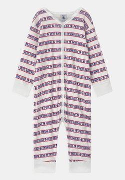 Petit Bateau - DORS BIEN SANS PIEDS - Pyjama - white/blue/red