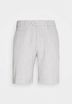 Les Deux - COMO LIGHT PINSTRIPE - Shorts - snow melange