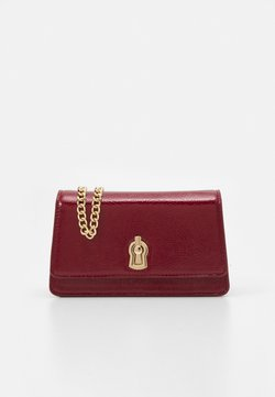 Dorothy Perkins - PATENT MINI XBODY - Sac bandoulière - red