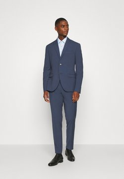 Isaac Dewhirst - PLAIN SMOKEY SUIT - Anzug - blue