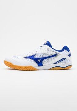 Mizuno - WAVE DRIVE 8 - Sportschoenen - white/reflex blue