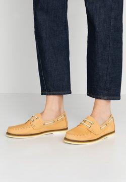 Tamaris - LACE-UP - Chaussures bateau - yellow