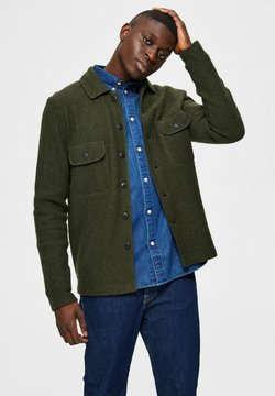 Selected Homme - Cardigan - forest night