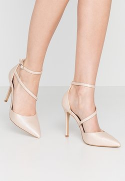 Miss Selfridge - CRYSTAL - High Heel Pumps - metallic