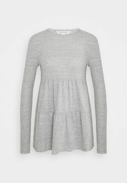 Forever New - PIPER TIERED SMOCK JUMPER - Longsleeve - grey