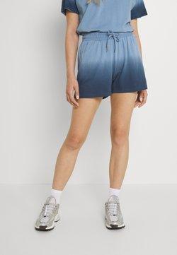 Noisy May - NMOMBRE - Shorts - faded denim/ombre dark denim