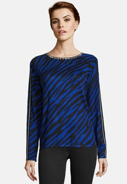 Betty Barclay - Strickpullover - blue/black