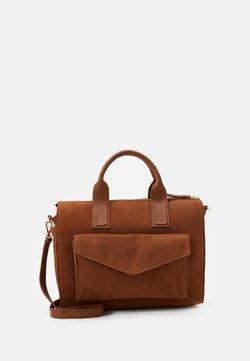Zign - LEATHER - Handtasche - cognac