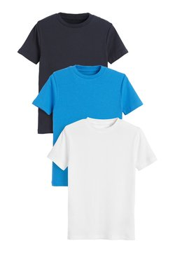 Next - 3 PACK - T-shirt basic - blue