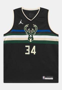 Nike Performance - NBA MILWAUKEE BUCKS GIANNIS ANTETOKOUNMPO UNISEXBOYS STATEMENT SWINGMAN - Pelipaita - black