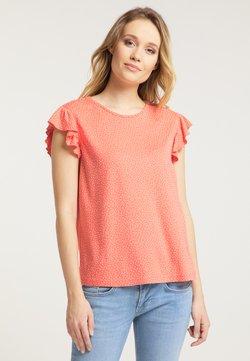 Mustang - T-Shirt print - orange