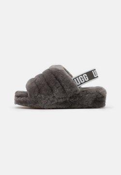 UGG - FLUFF YEAH SLIDE - Hausschuh - charcoal