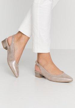 Caprice - Classic heels - taupe