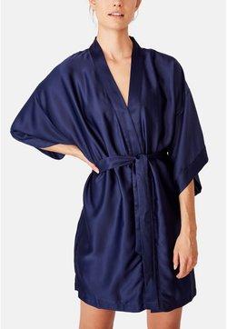 Cotton On Body - KIMONO GOWN - Bademantel - blue