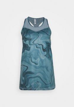 ONLY PLAY Tall - ONPSMAYA LIFE TRAINING - T-shirt print - goblin blue