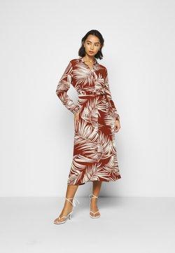 ONLY Petite - ONLAUGUSTINA SHIRT DRESS - Robe chemise - burnt henna