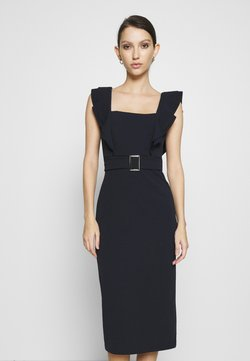 WAL G. - HUNTER BUCKLE DRESS - Cocktail dress / Party dress - navy
