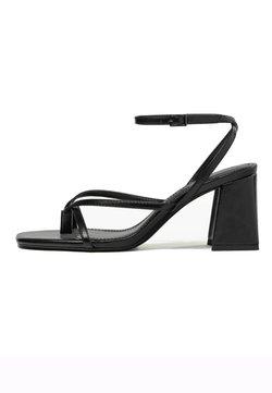 Bershka - Sandaletter - black