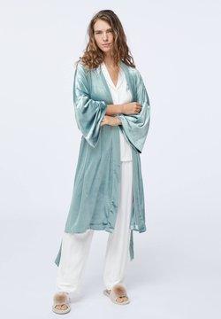 OYSHO - Peignoir - turquoise