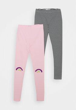 Lemon Beret - SMALL GIRLS 2 PACK - Leggings - Hosen - prism pink