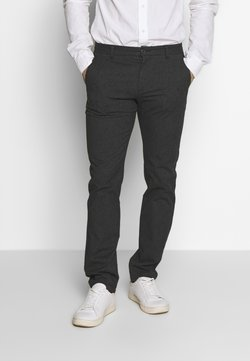 Selected Homme - SLHSLIM ARVAL PANTS - Stoffhose - grey