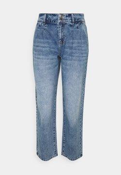 ONLY - ONLDEBBIE WIDE - Straight leg -farkut - medium blue denim