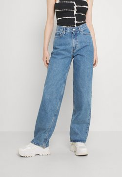 Weekday - RAIL  - Jeans relaxed fit - hanson blue