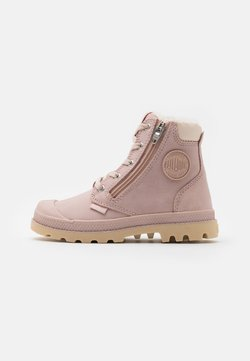 Palladium - PAMPA HI CUFF WPS - Bottines à lacets - rose dust/pink tint