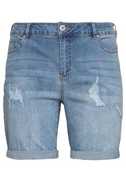 Zizzi - Jeansshort - light blue denim