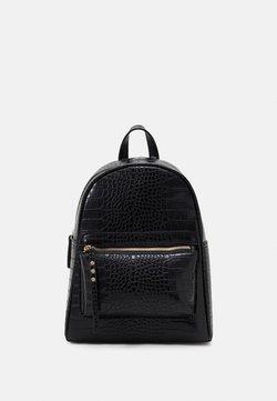 New Look - ALFIE CROC BACKPACK - Reppu - black