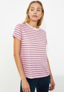 Trendyol - T-Shirt print - pink