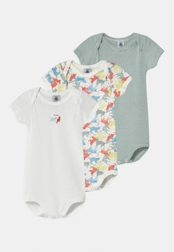 Petit Bateau - 3 PACK - Body - white/blue/multi-coloured